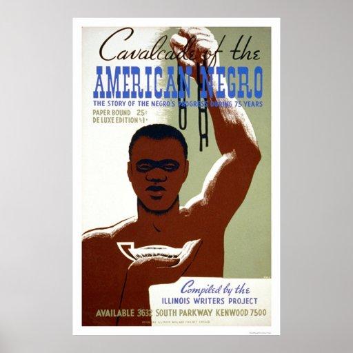 American Negro Story 1940 WPA Print