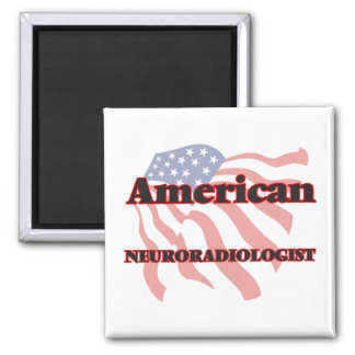 American Neuroradiologist 2 Inch Square Magnet