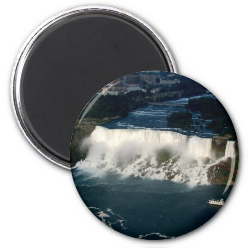American Niagara Falls: Aerial View from Skylon Magnets