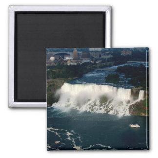 American Niagara Falls: Aerial View from Skylon Refrigerator Magnets