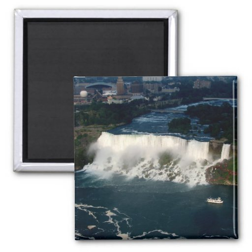 American Niagara Falls: Aerial View from Skylon Refrigerator Magnets