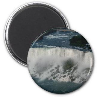 American Niagara Falls: Aerial View from Skylon Refrigerator Magnet