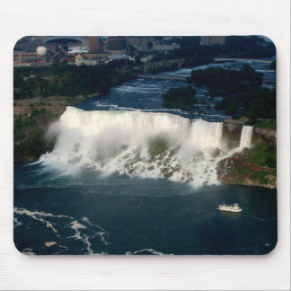American Niagara Falls: Aerial View from Skylon Mouse Pad