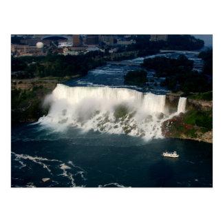 American Niagara Falls: Aerial View from Skylon Postcard