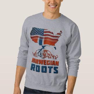 American Norwegian Roots Sweatshirt