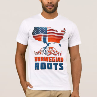 American Norwegian Roots T-Shirt