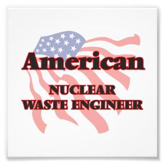 American Nuclear Waste Engineer Photo Print