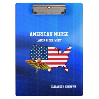 American Nurse   Labor & Delivery Clipboards