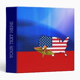 American Nurse. Patriotic Design Gift Binders
