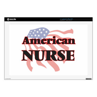 American Nurse Decal For Laptop