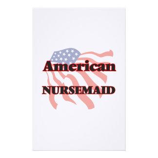 American Nursemaid Stationery