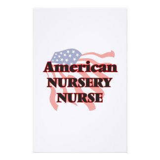 American Nursery Nurse Stationery