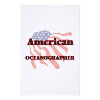 American Oceanographer Stationery