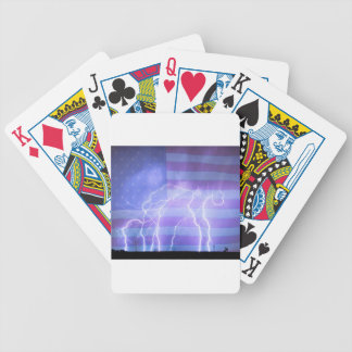 American Oil Field Bicycle Playing Cards