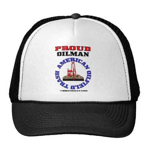 American Oil Field Trash,Hat,Cap,Gift,Oil Rig