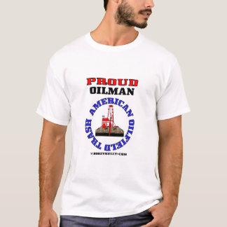 American Oil Field Trash,Oil Field Gift,T-Shirt, T-Shirt