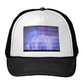 American Oil Field Trucker Hat