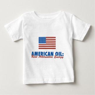 American Oil: Real Alternative Energy Baby T-Shirt