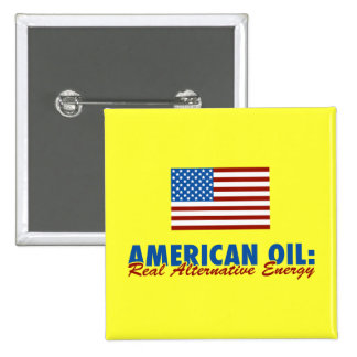 American Oil: Real Alternative Energy Button