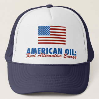 American Oil: Real Alternative Energy Trucker Hat