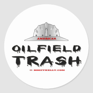 American Oilfield Trash Sticker