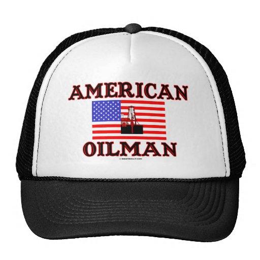 American Oilman,Oil Field Hat,Oil Rig,Oil,Gas,