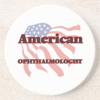 American Ophthalmologist Drink Coaster