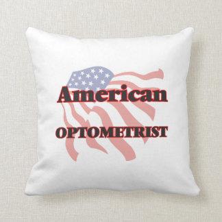 American Optometrist Throw Pillows