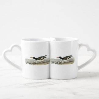 American Oystercatcher by Audubon Couples Coffee Mug