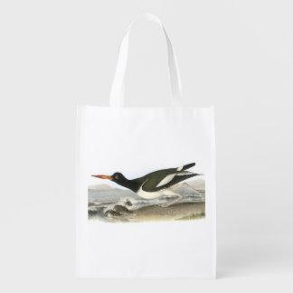 American Oystercatcher by Audubon Grocery Bag