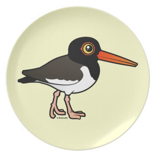American Oystercatcher Party Plate