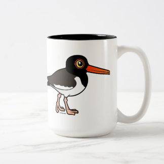 American Oystercatcher Two-Tone Coffee Mug