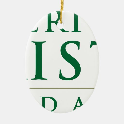 American Pakistan Foundation Merchandise Ceramic Ornament