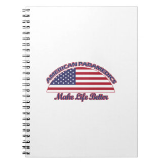 american Paramedics designs Notebook