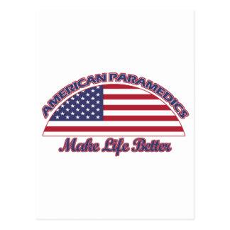 american Paramedics designs Postcard