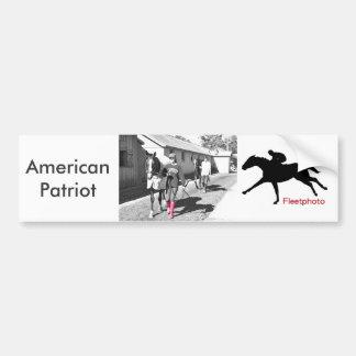 American Patriot & Amanda Gillman Bumper Sticker