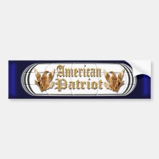 American Patriot Car Bumper Sticker
