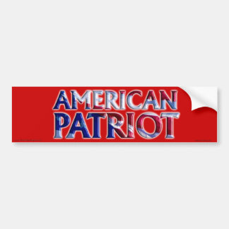 American Patriot - Bumper Sticker