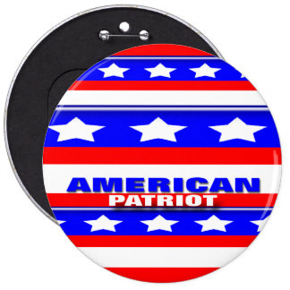 American Patriot Pinback Buttons