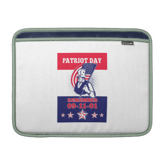 American Patriot Day Poster 911 Greeting Card iPad Sleeves