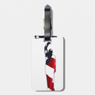 American Patriot Drill Luggage Tag