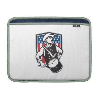 American Patriot Drummer With Flag Sleeve For MacBook Air