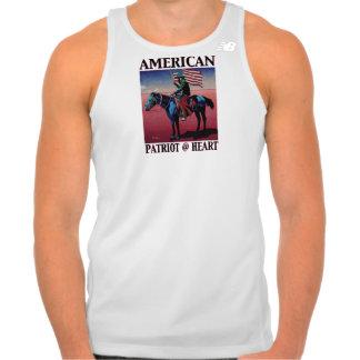 American Patriot @ Heart by David Parker Fine Art Tshirt