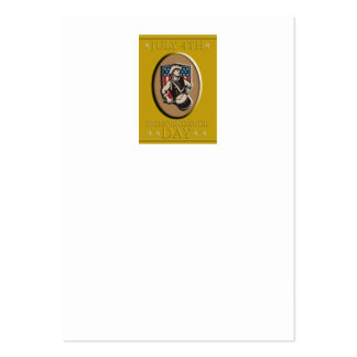 American Patriot Independence Day Poster Greeting Business Cards