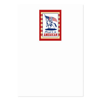 American Patriot Independence Day Poster Greeting Business Card Templates