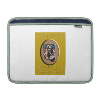 American Patriot Independence Day Poster Greeting Sleeve For iPads