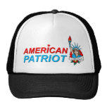 American Patriot Liberty Tattoo Hats