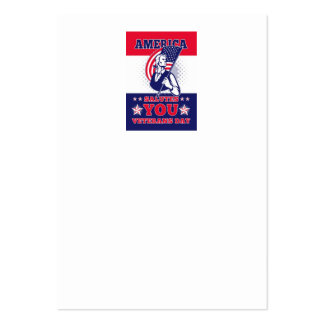American Patriot Memorial Day Poster Greeting Card Business Card Templates