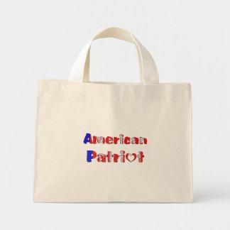 American Patriot Mini Tote Bag