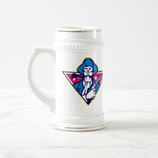 American Patriot Minuteman Flintlock Pistol Coffee Mugs